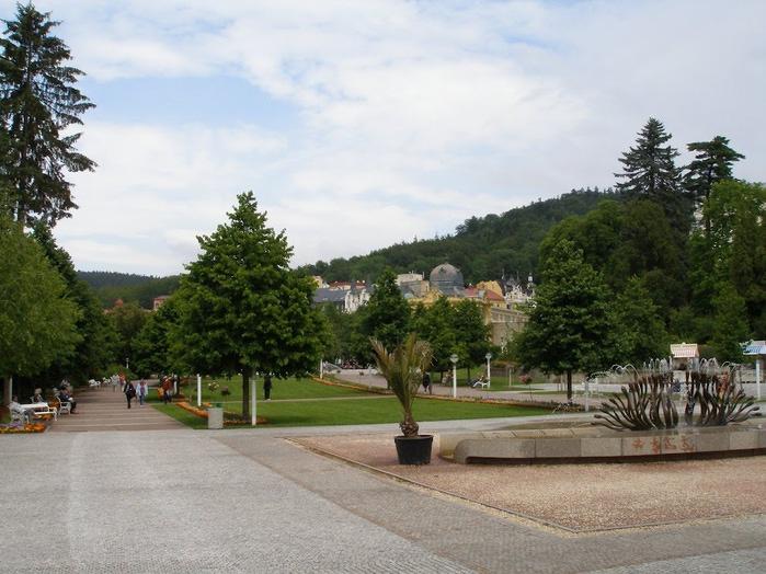 Курорт Марианске Лазне - зелёная жемчужина Чехии. 77322
