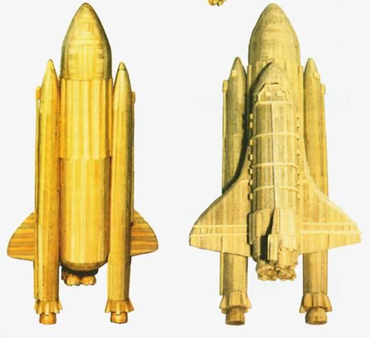 Как сделать ракету из дерева своими руками