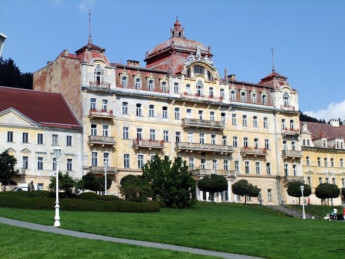 Курорт Марианске Лазне - зелёная жемчужина Чехии. 35181