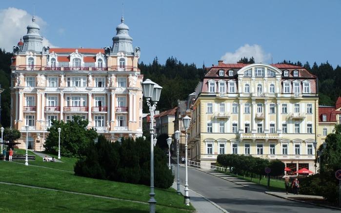 Курорт Марианске Лазне - зелёная жемчужина Чехии. 43437