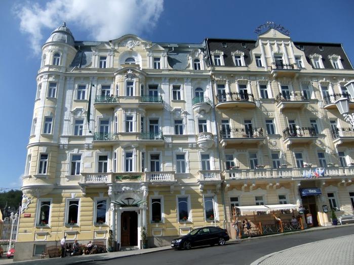 Курорт Марианске Лазне - зелёная жемчужина Чехии. 42040