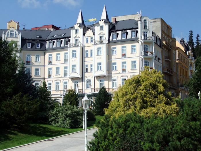 Курорт Марианске Лазне - зелёная жемчужина Чехии. 76779