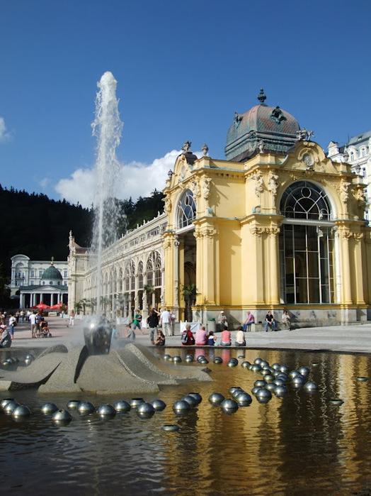Курорт Марианске Лазне - зелёная жемчужина Чехии. 89140