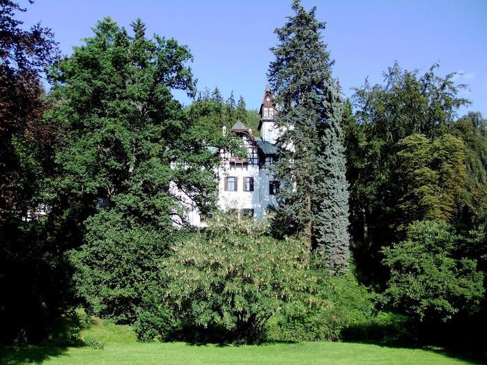 Курорт Марианске Лазне - зелёная жемчужина Чехии. 75104