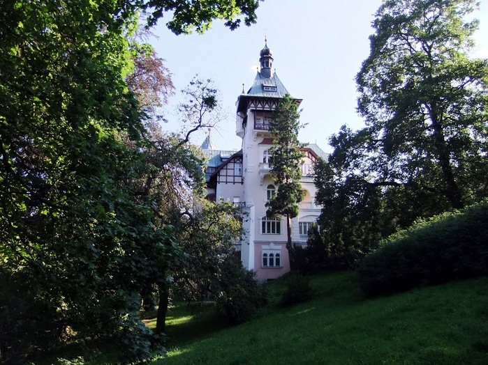 Курорт Марианске Лазне - зелёная жемчужина Чехии. 62416