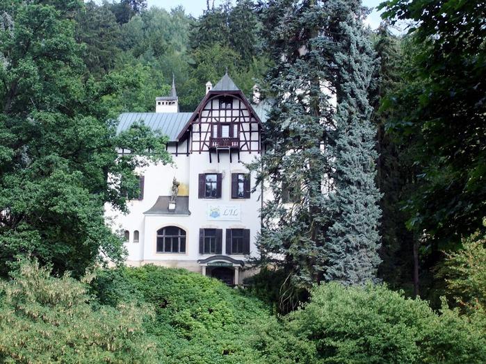 Курорт Марианске Лазне - зелёная жемчужина Чехии. 51536