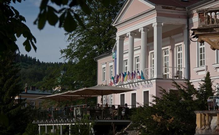 Курорт Марианске Лазне - зелёная жемчужина Чехии. 27984