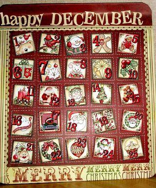представляет календарь