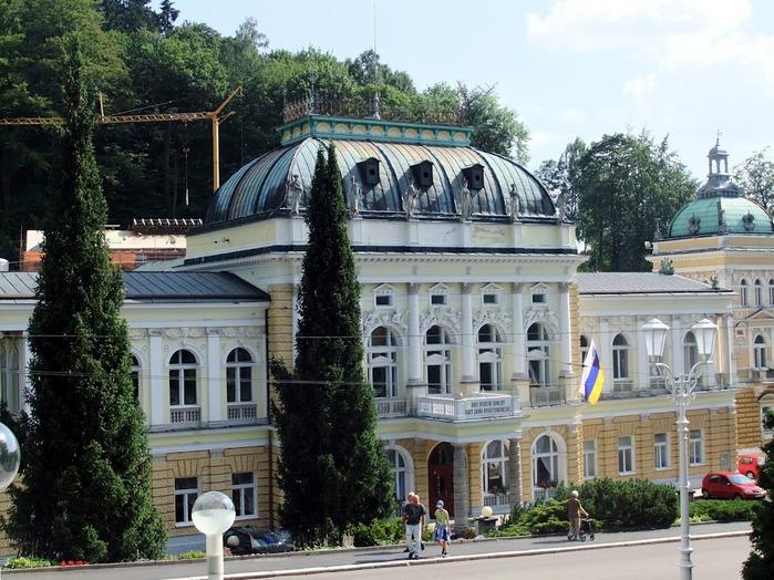 Курорт Марианске Лазне - зелёная жемчужина Чехии. 24070