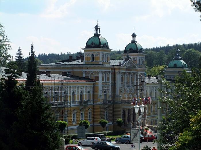 Курорт Марианске Лазне - зелёная жемчужина Чехии. 66650