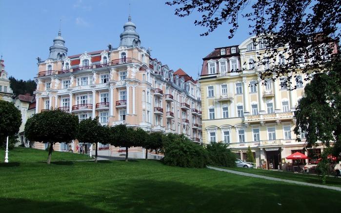 Курорт Марианске Лазне - зелёная жемчужина Чехии. 76190