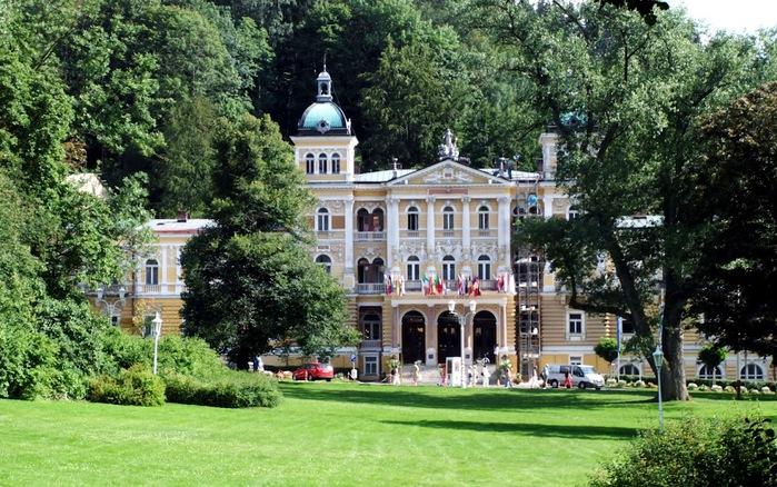 Курорт Марианске Лазне - зелёная жемчужина Чехии. 19768