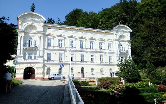 Курорт Марианске Лазне - зелёная жемчужина Чехии. 92487