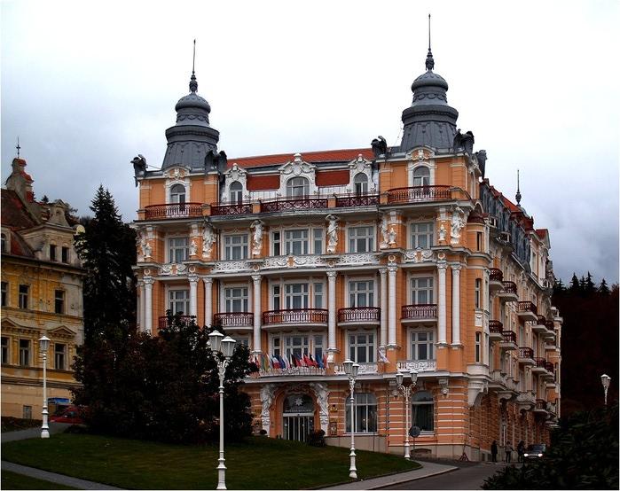 Курорт Марианске Лазне - зелёная жемчужина Чехии. 81840
