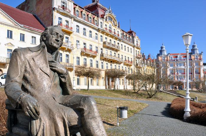 Курорт Марианске Лазне - зелёная жемчужина Чехии. 46669