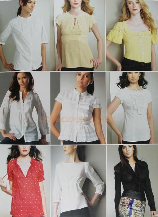 Из чего сшить блузу 889
