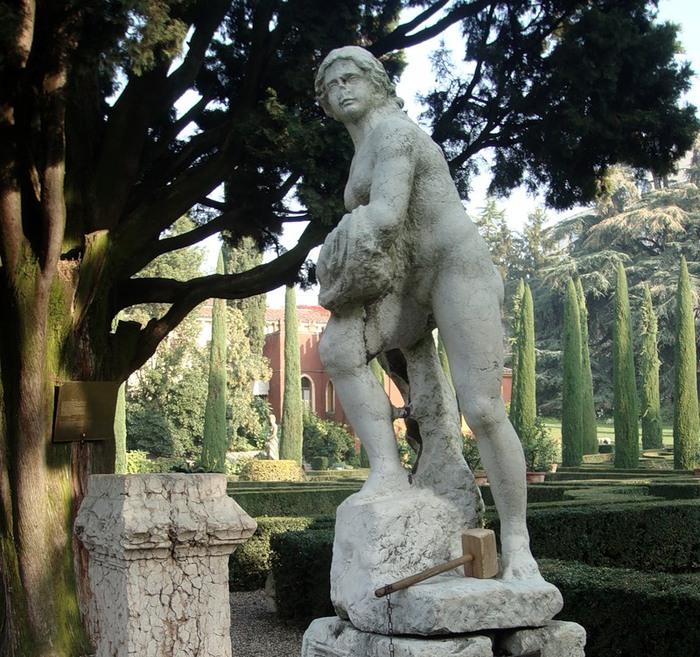Сад Джусти - достопримечательности Италии 2 (700x657, 183Kb)