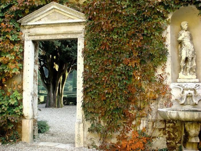 Сад Джусти - достопримечательности Италии 21 (700x525, 177Kb)