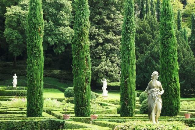 Сад Джусти - достопримечательности Италии 3 (640x426, 125Kb)