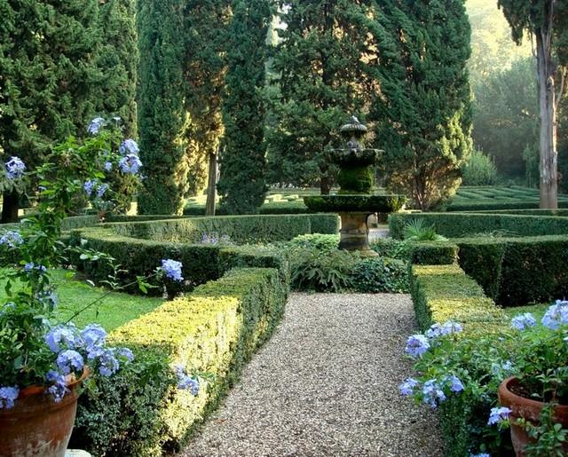 Сад Джусти - достопримечательности Италии 8 (640x515, 171Kb)