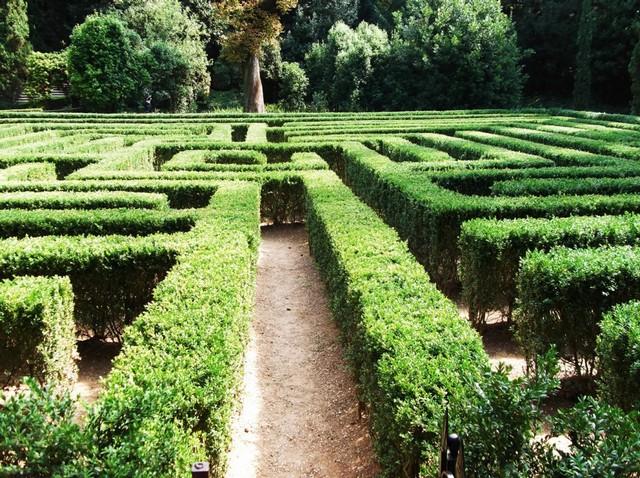 Сад Джусти - достопримечательности Италии 11 (640x478, 162Kb)