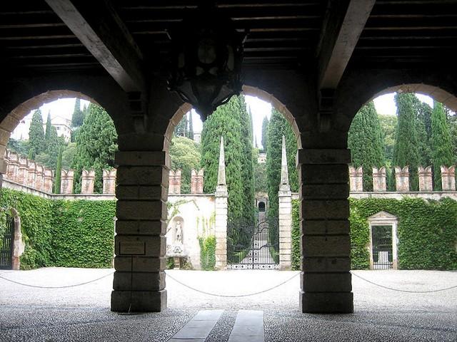Сад Джусти - достопримечательности Италии 13 (640x480, 113Kb)