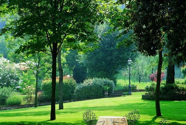 Сад Джусти - достопримечательности Италии 16 (640x432, 131Kb)