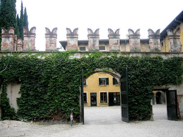 Сад Джусти - достопримечательности Италии 22 (640x481, 125Kb)