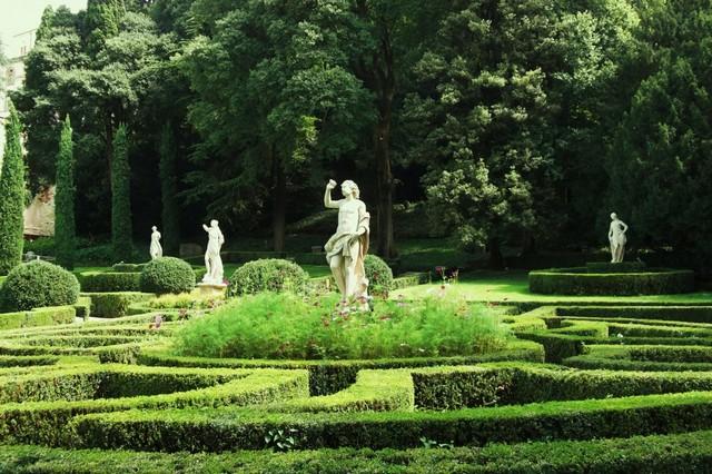 Сад Джусти - достопримечательности Италии 24 (640x426, 120Kb)