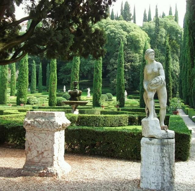 Сад Джусти - достопримечательности Италии 26 (640x625, 171Kb)