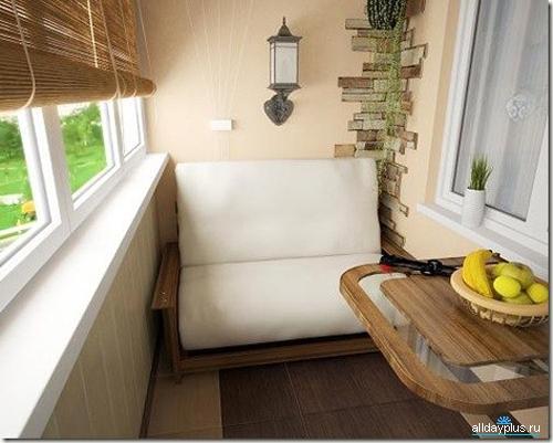 Идеи для дизайна балконов и лоджий.. обсуждение на liveinter.