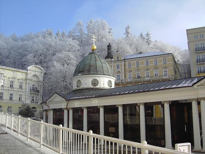 Курорт Марианске Лазне - зелёная жемчужина Чехии. 13675