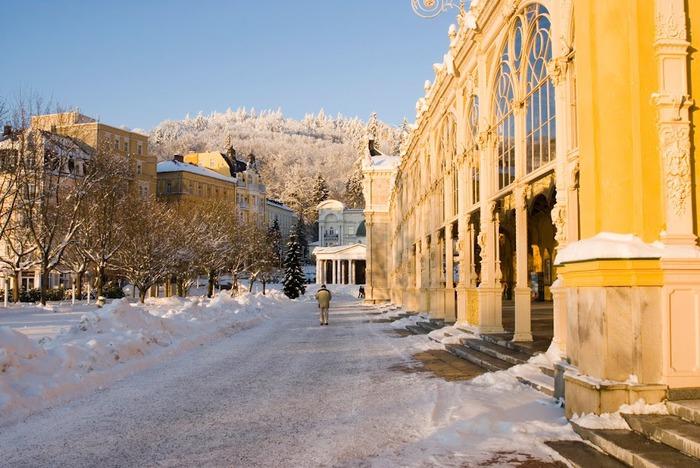 Курорт Марианске Лазне - зелёная жемчужина Чехии. 46293