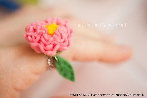 Кольца своими руками мамам