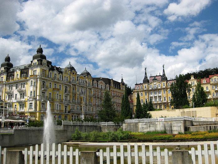 Курорт Марианске Лазне - зелёная жемчужина Чехии. 57713