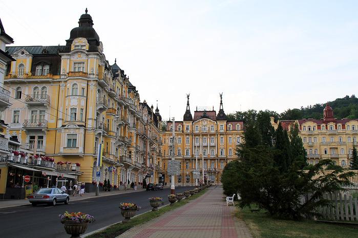 Курорт Марианске Лазне - зелёная жемчужина Чехии. 29759