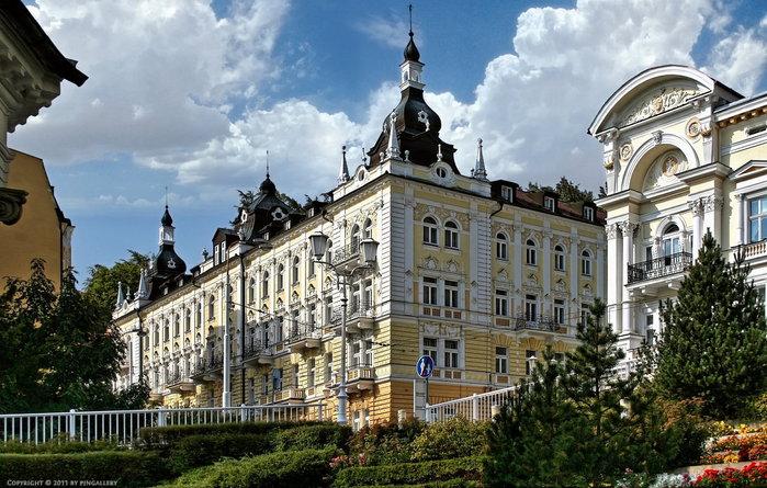 Курорт Марианске Лазне - зелёная жемчужина Чехии. 81229