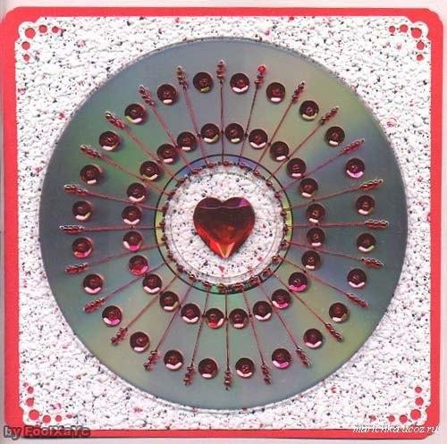 Что можно сделать из старых CDDvD дисков?