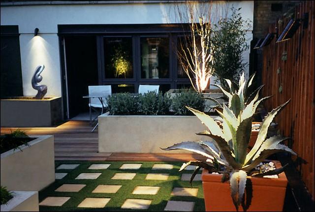 Идеи для сада на террасе от дизайнера Амира Шлезингера 4 (640x431, 83Kb)