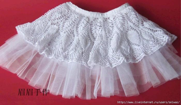 юбка-солнцебалетная пачка