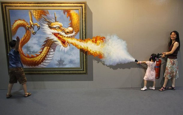 Специальная выставка магического искусства в городе Ханчжоу (Magic Art Special Exhibition in Hangzhou), Китай, 07 июля 2012 года