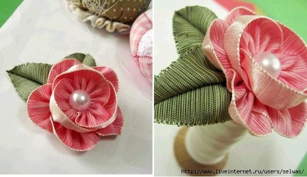 Красивый цветок из лент для украшений своими руками,мастер-класс по фото/4683827_20120710_094443 (600x346, 129Kb)