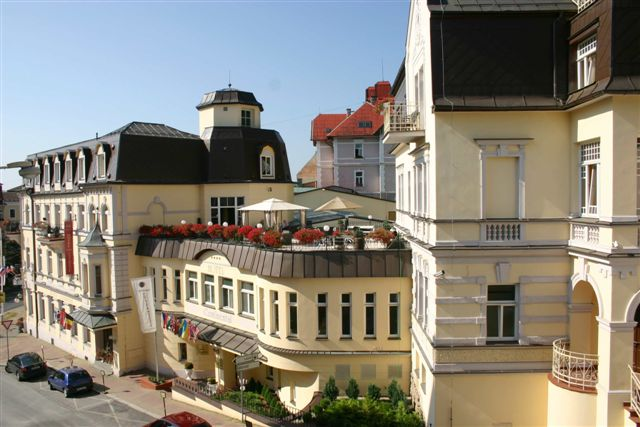 Курорт Марианске Лазне - зелёная жемчужина Чехии. 78736