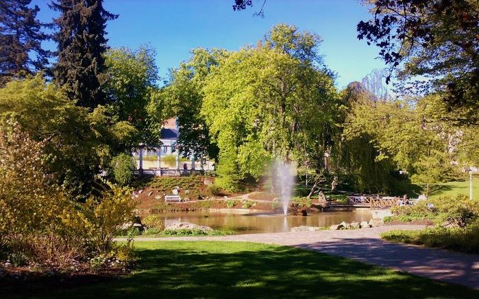 Курорт Марианске Лазне - зелёная жемчужина Чехии. 70422