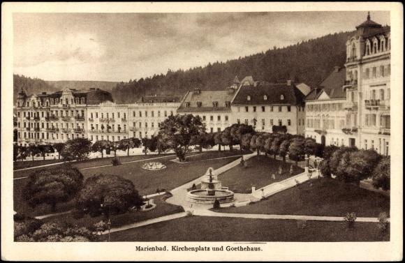Курорт Марианске Лазне - зелёная жемчужина Чехии. 86609