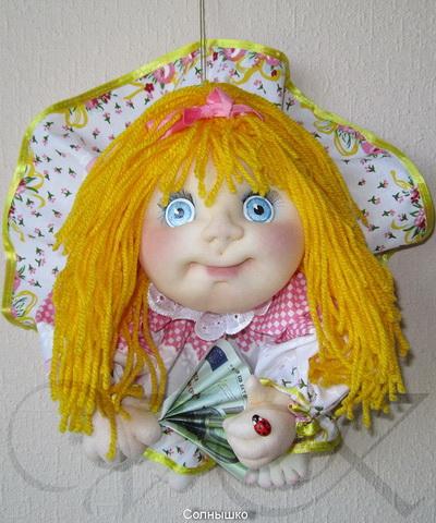 Кукла попик из капрона своими руками мастер класс 82