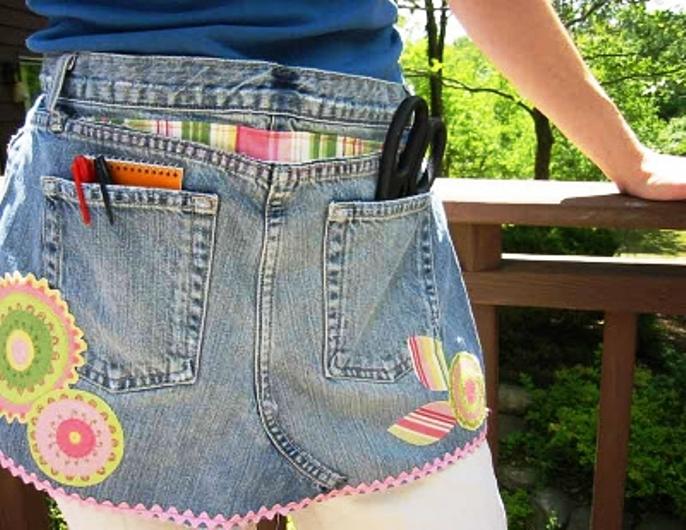 不要扔出去,小了的、旧了的牛仔裤! - maomao - 我随心动