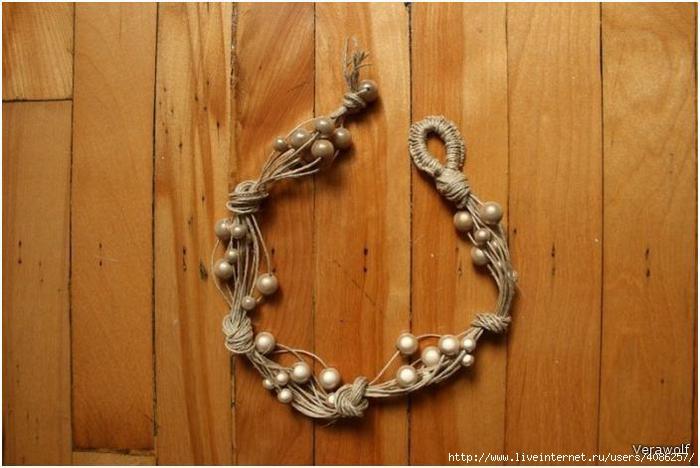 Браслет своими руками из верёвки