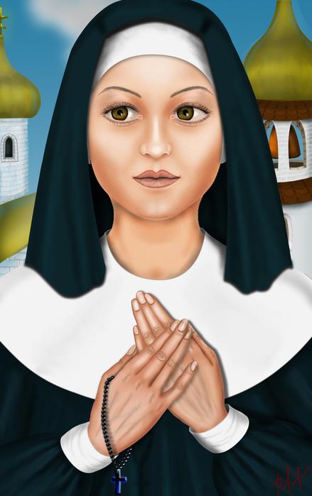 монахиня8 (439x700, 113Kb)
