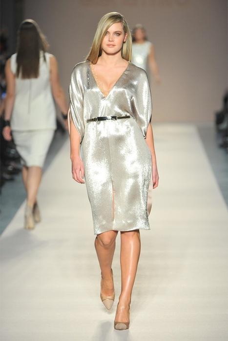 Мода 2013 платья для полных 6